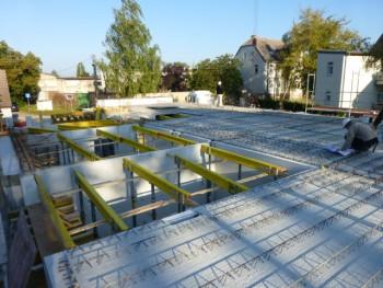 Baufortschritt September 2012