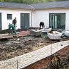 Baufortschritt Neubau des Pflegezentrums 2005